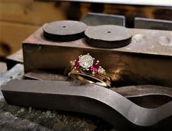 Ruby and Diamond Wedding Jacket