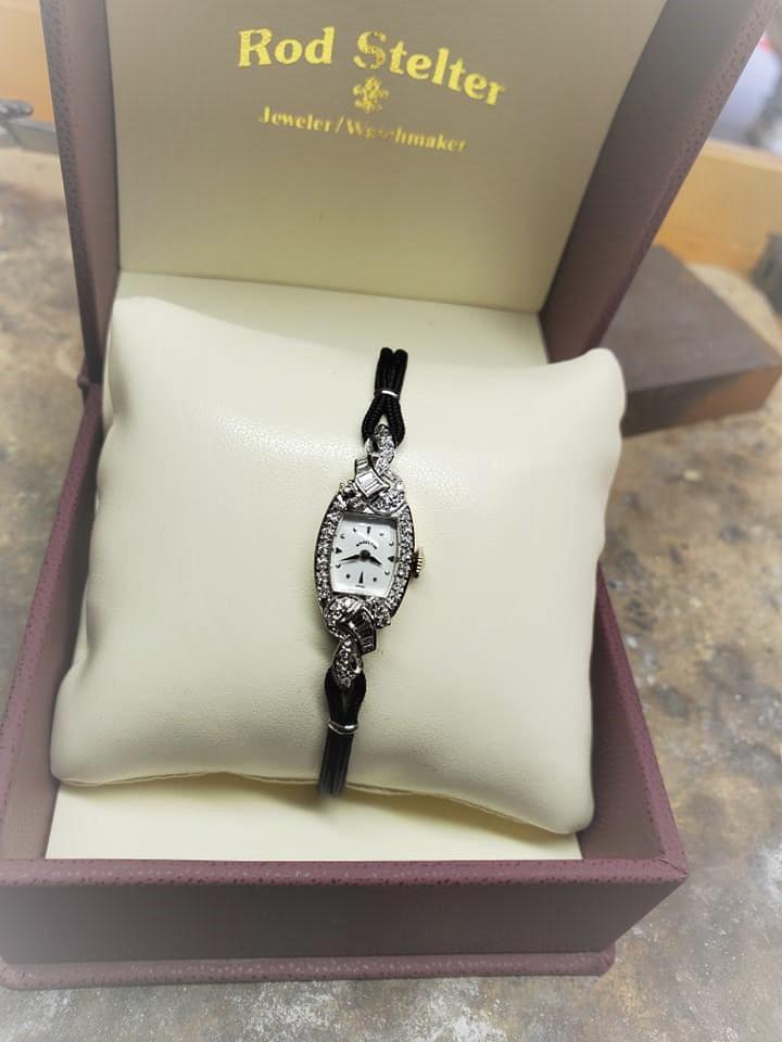 .50ctw Hamilton Diamond Watch