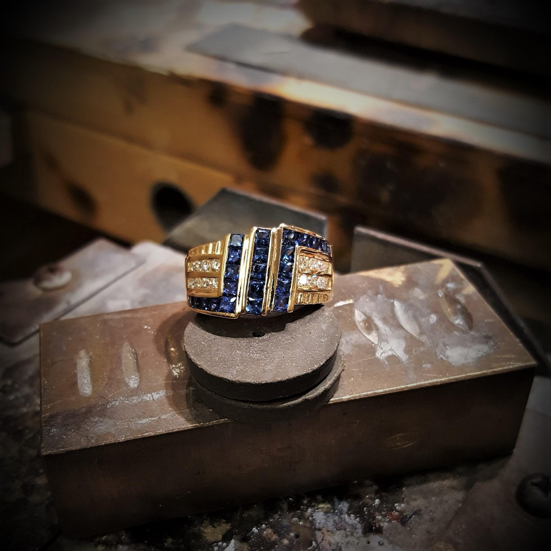 Ceylon Sapphires & Diamonds
