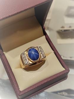 Blue Linde Star Sapphire