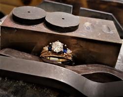 Sapphire and Diamond Ring Enhancer