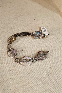 Mexico Sliver Abalone Bracelet