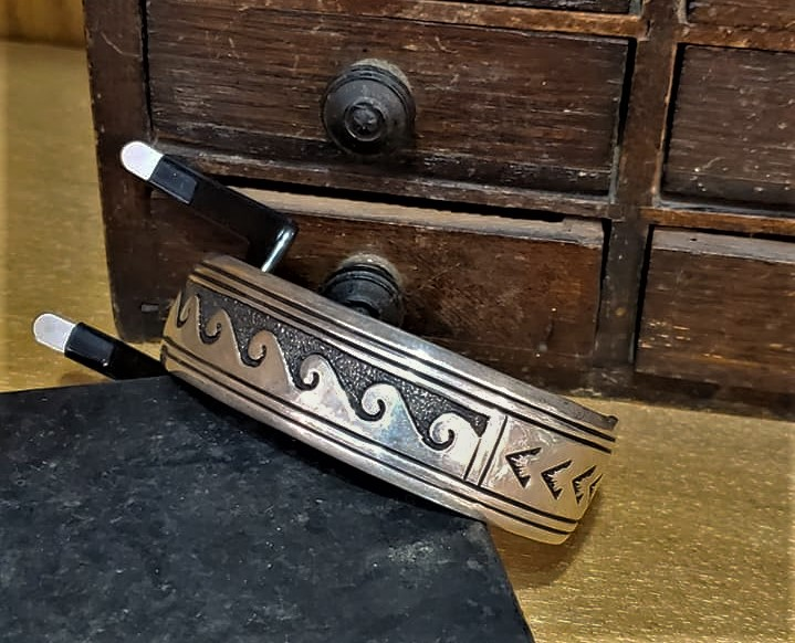 Navajo Tommy Singer Cuff Bracelet