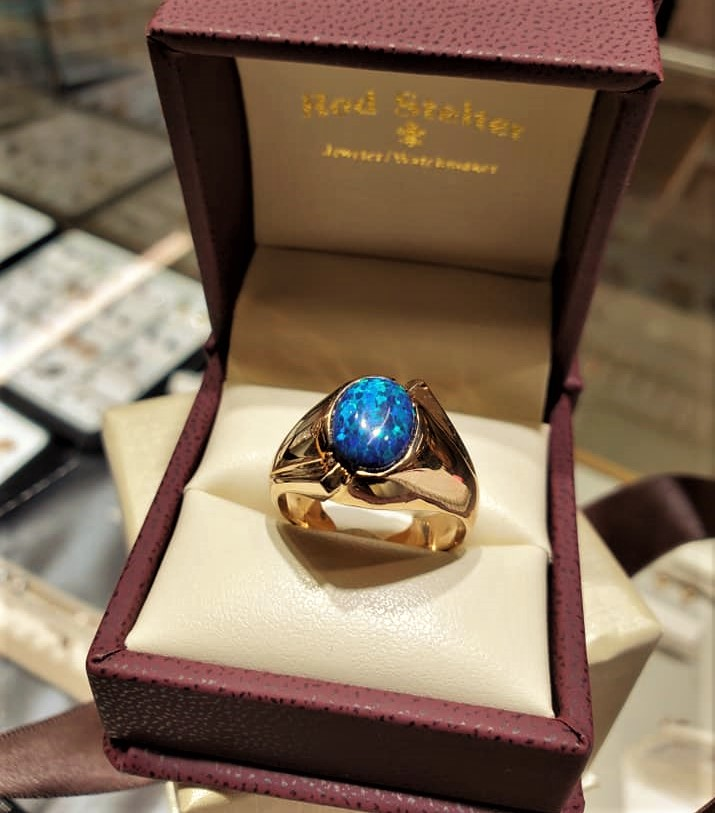 Opal Gent's Ring