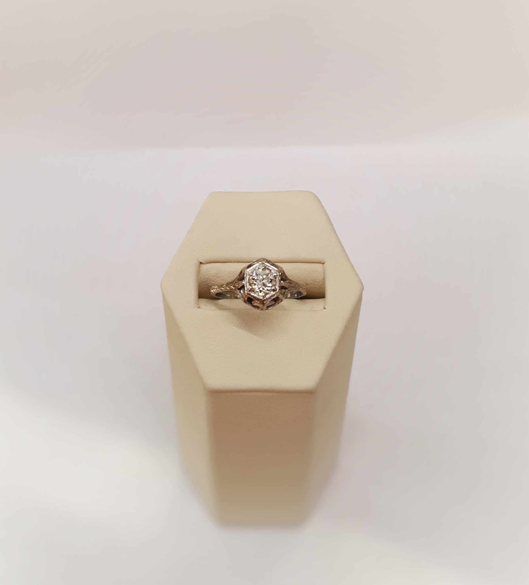 Antique .50ct Diamond Engagement