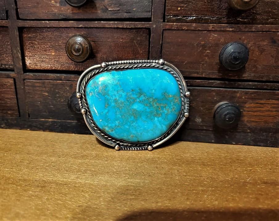 Navajo Turquoise Bolo Tie