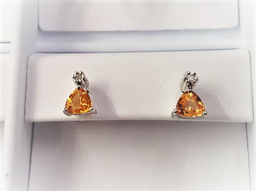 Yellow Sapphire & Diamonds