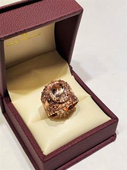 2.58ct Morganite .25ctw Diamonds