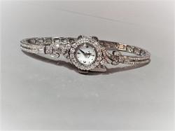 Hamilton Diamond Watch 3.50ctw