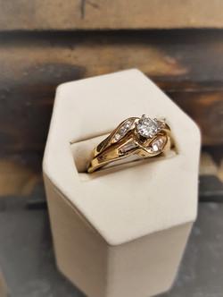 .70ctw Diamond Wedding Set