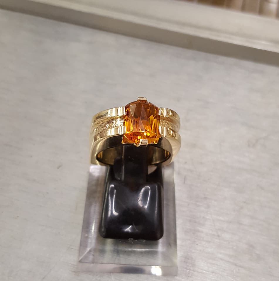 Top Golden Citrine