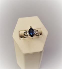 Sapphire .25ctw Diamonds