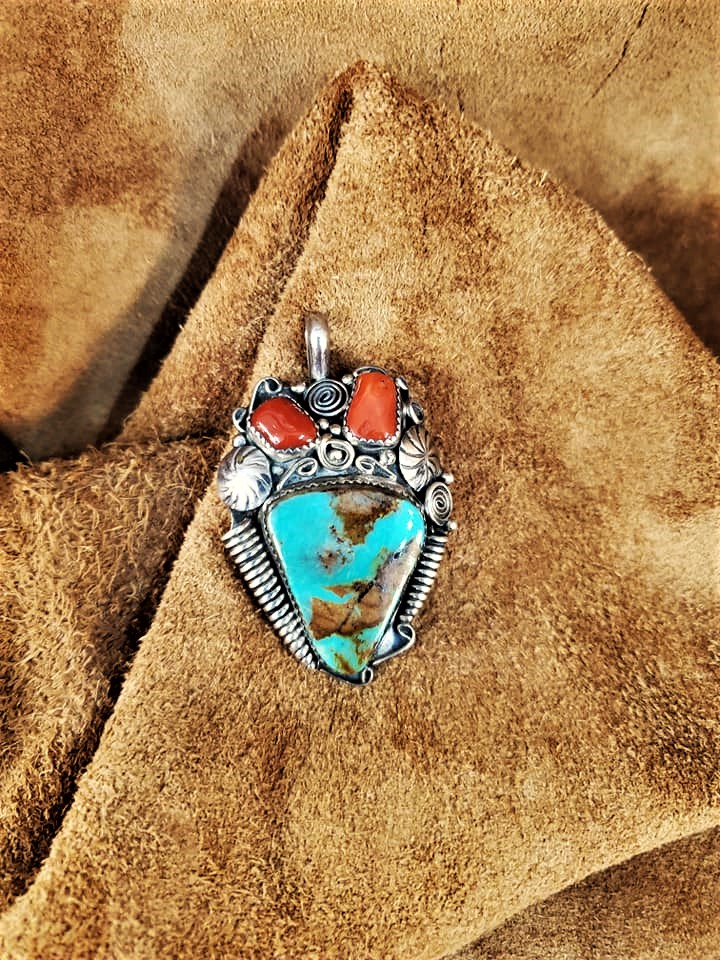 Navajo End of Day Pendant
