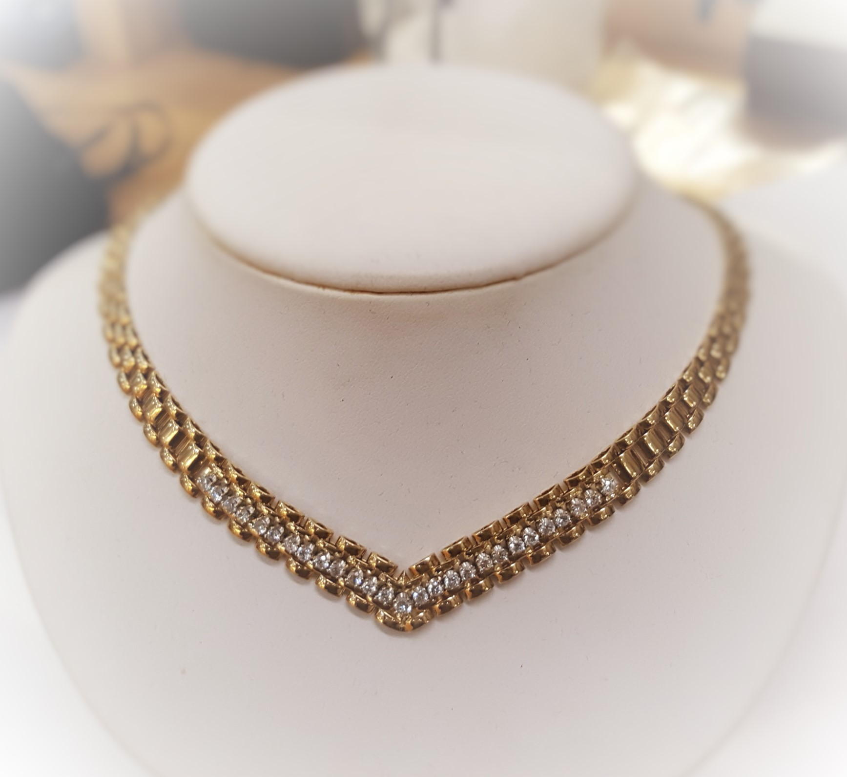 1.50ctw Diamond Choker