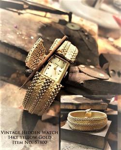 Geneva Hidden Bracelet Watch