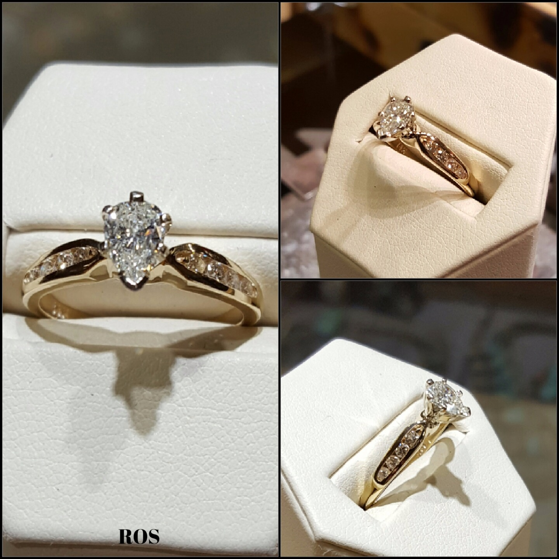 .65tcw Diamond Engagement Ring