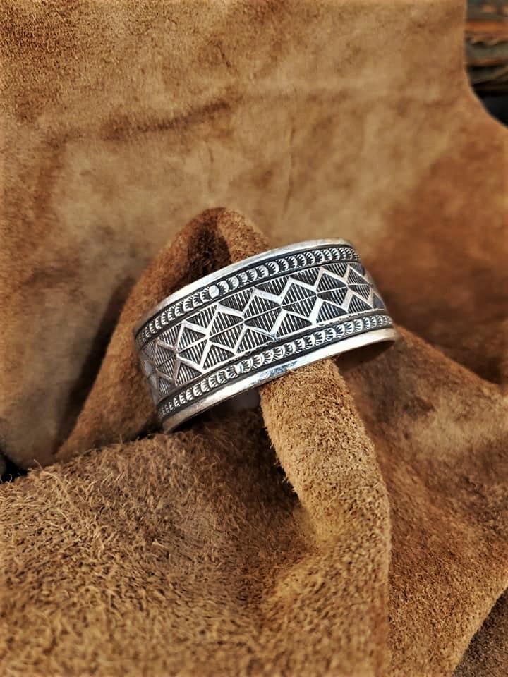 Navajo Leonard Maloney Cuff Bracelet