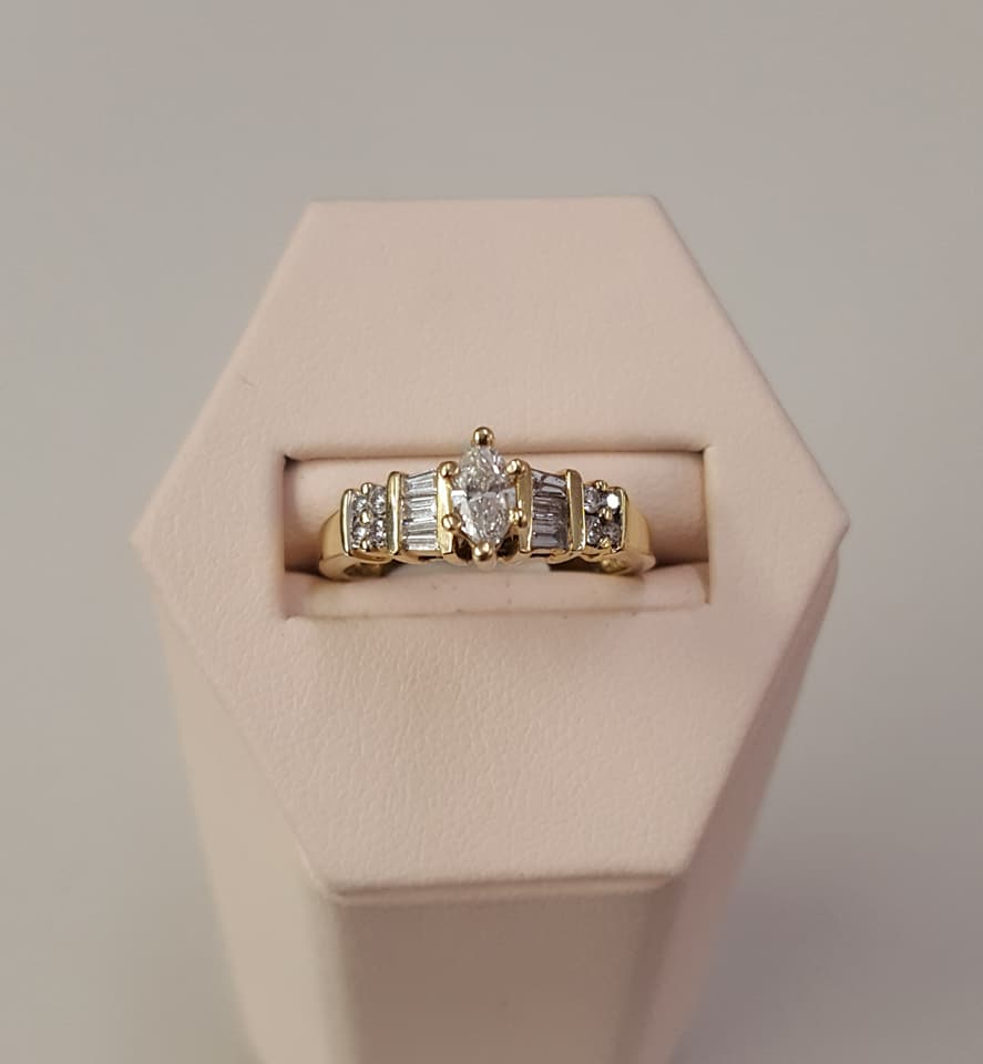 .50ctw Diamond Engagement Ring