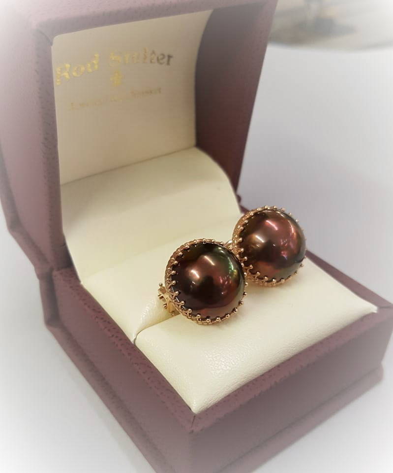 Mocha Mabe Pearls
