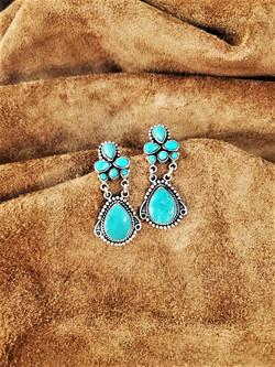 Designer Dan Dodson Turquoise Earrings