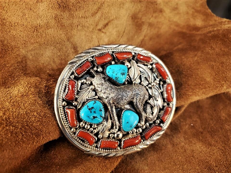 Navajo Henry Patrick Attakai Buckle