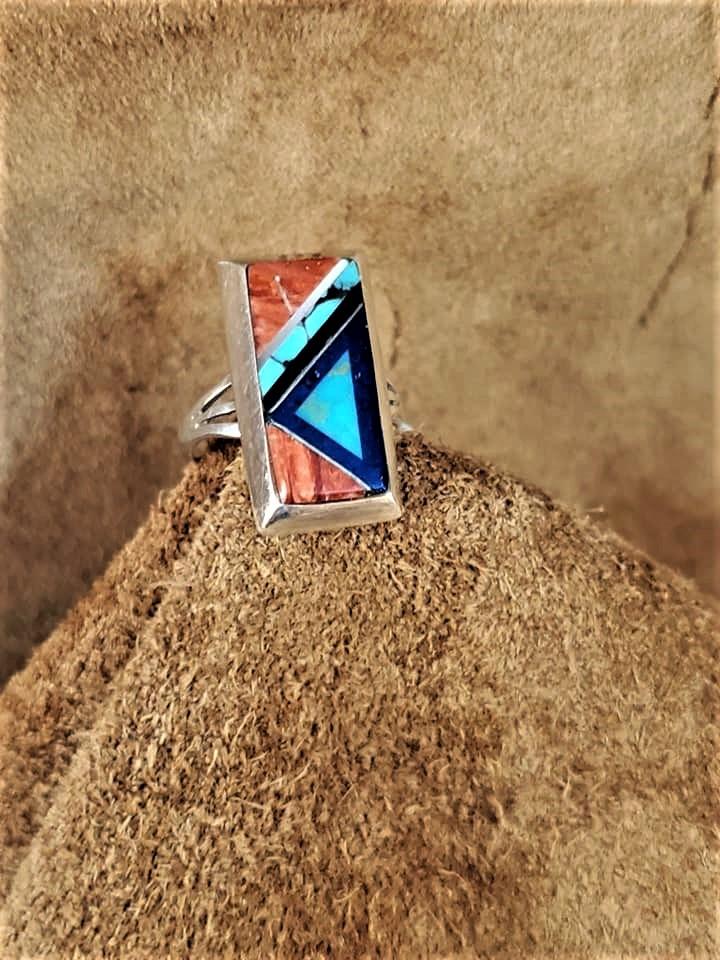 Hopi Art Batala Inlay Ring