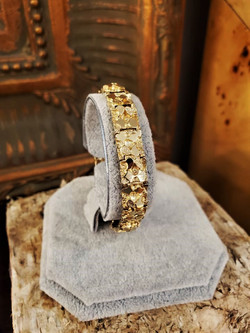 Nugget Bracelet 14kt Yellow Gold