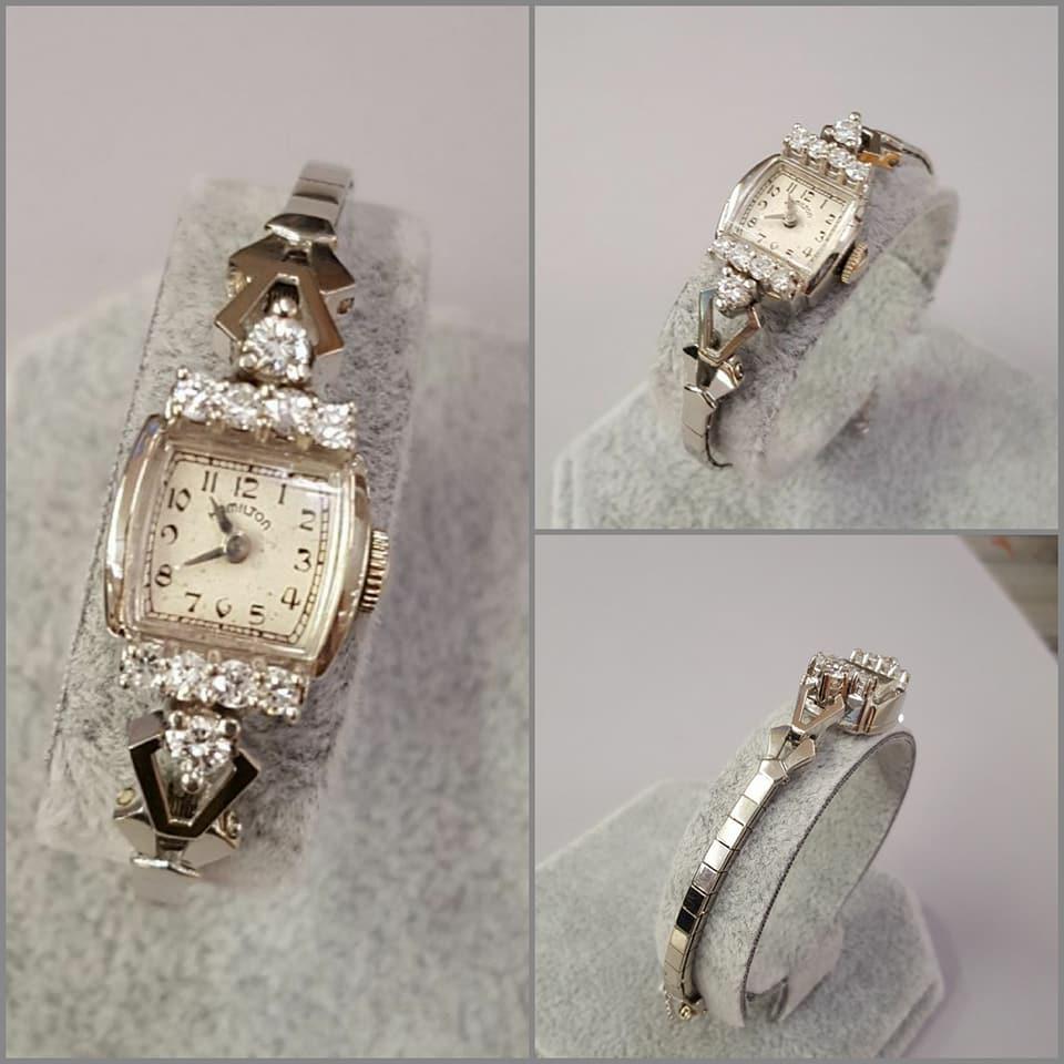 .75ctw Hamilton Diamond Watch