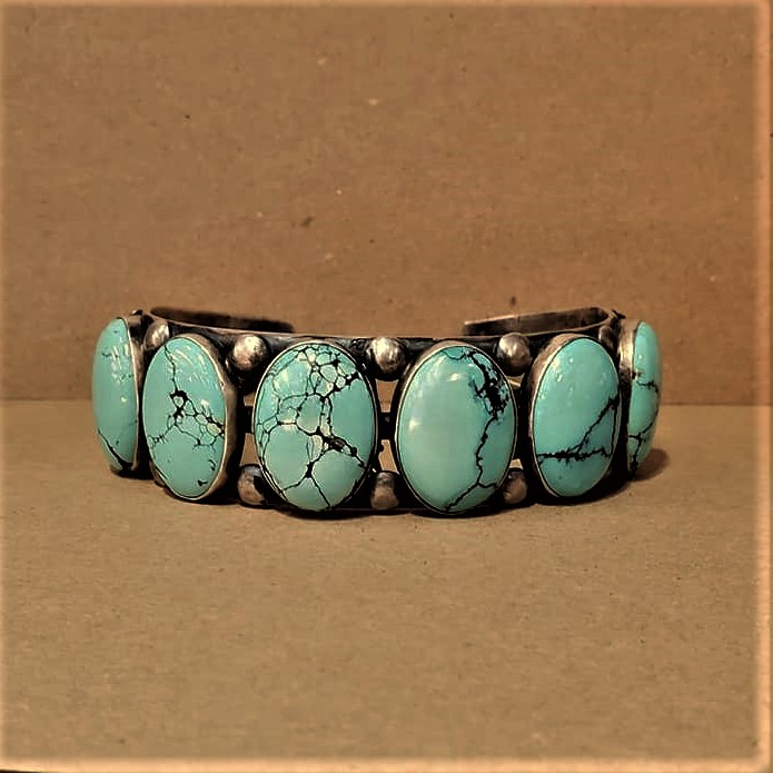 Paul J. Begay Turquoise Cuff