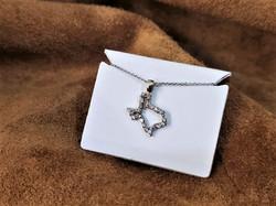 State of Texas .25ctw Diamond Pendant