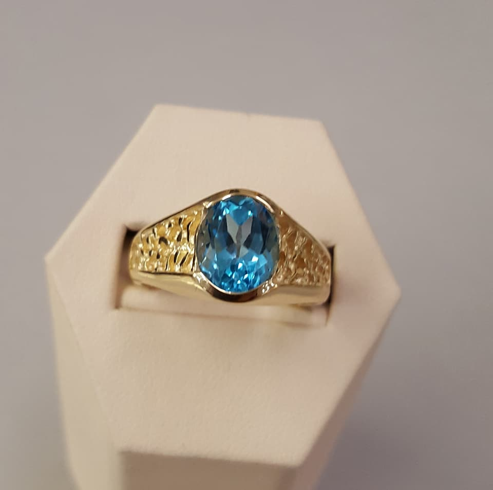 3.78ct Swiss Blue Topaz