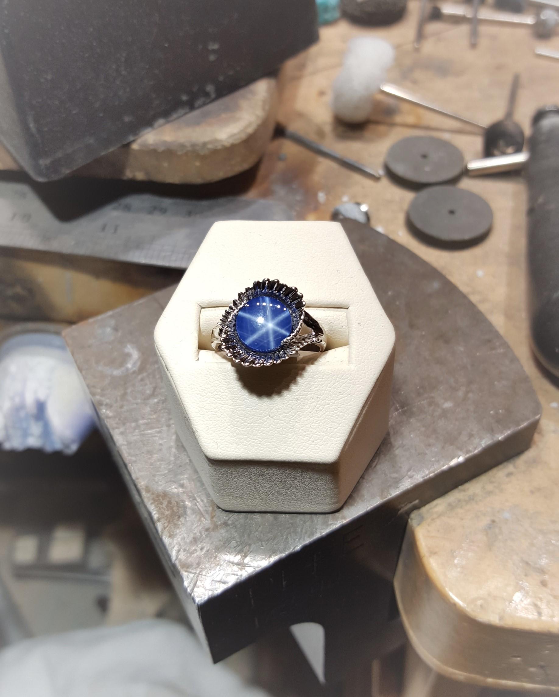 Blue Star Sapphire