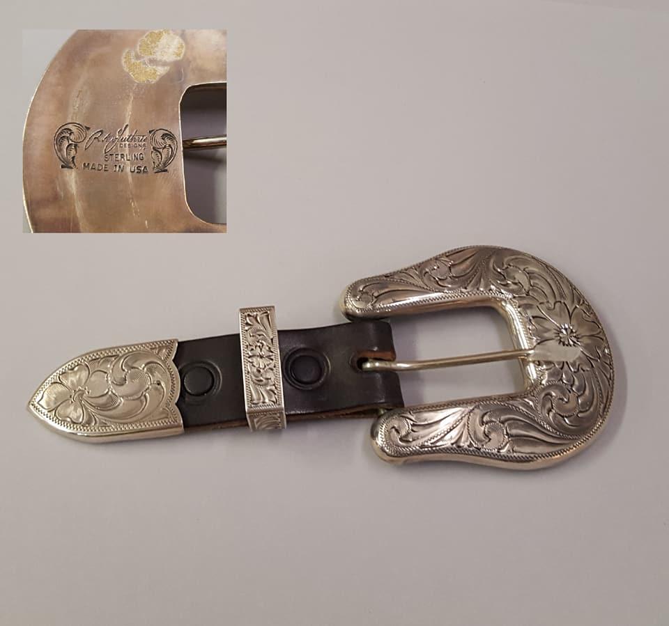 R. A. Guthrie Sterling Silver Ranger Set