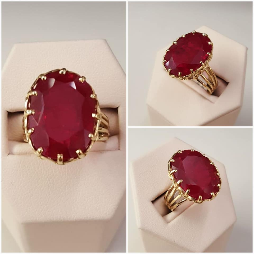 13.75ct Natural Enhanced Ruby