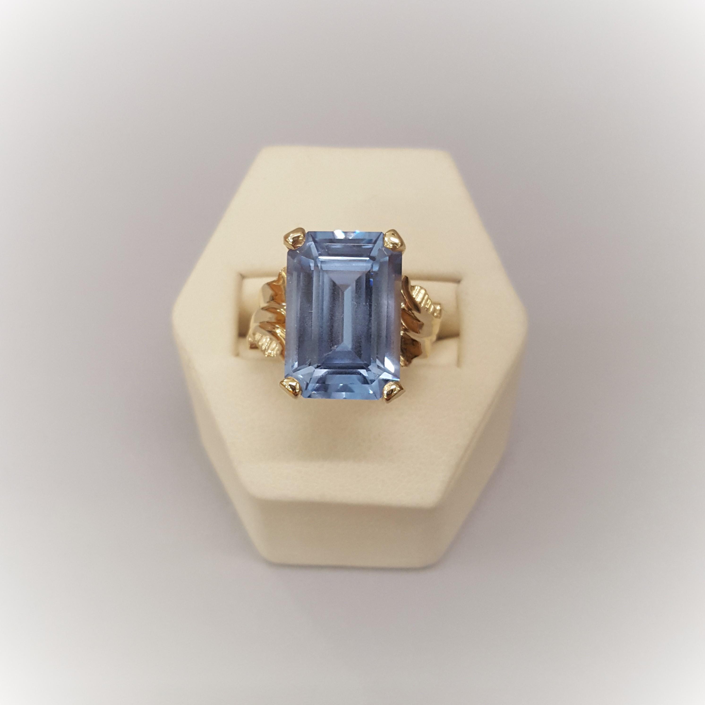 12.10ct Blue Topaz