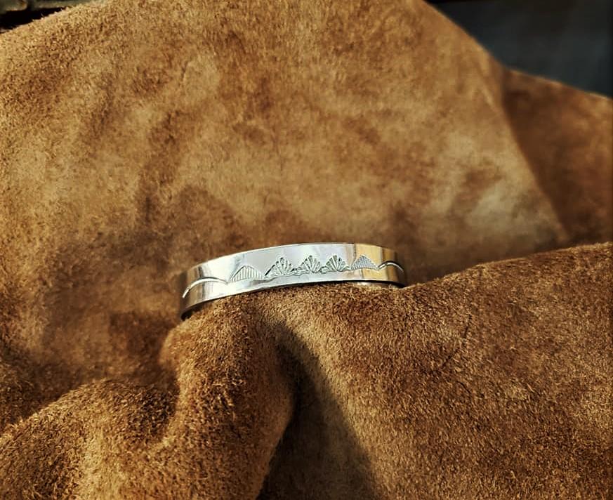 Navajo Storyteller Cuff Bracelet