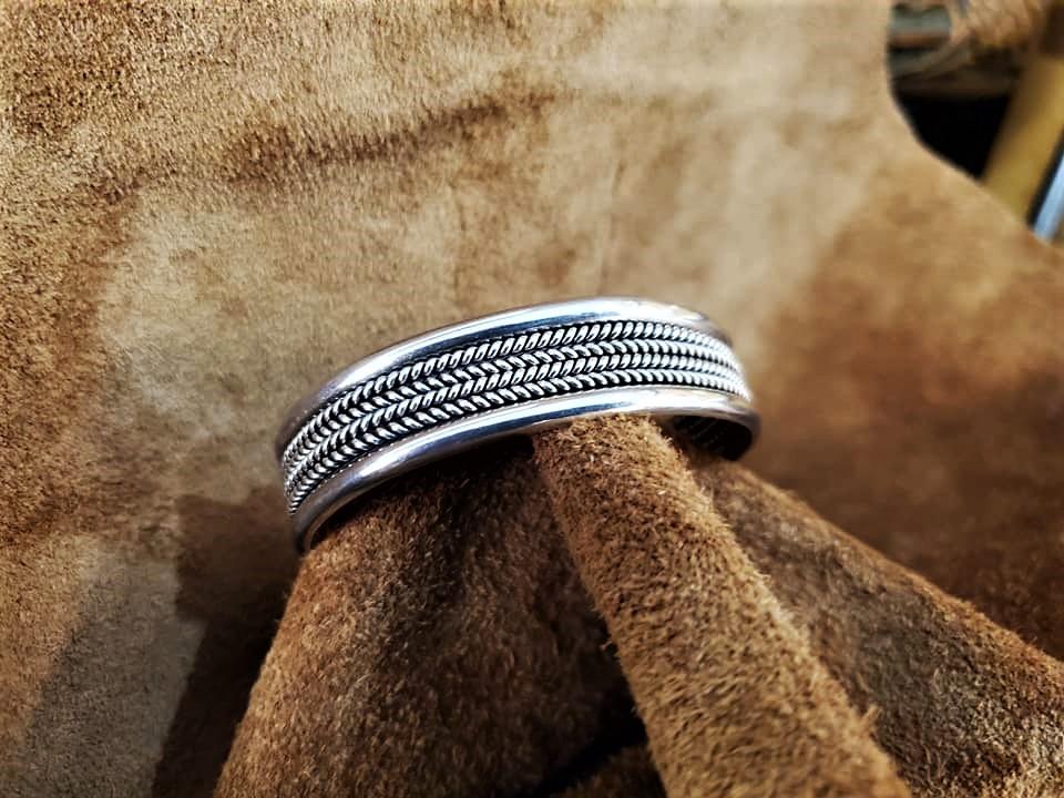 Navajo Tahe Cuff Bracelet