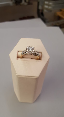 .53ctw Diamond Engagement