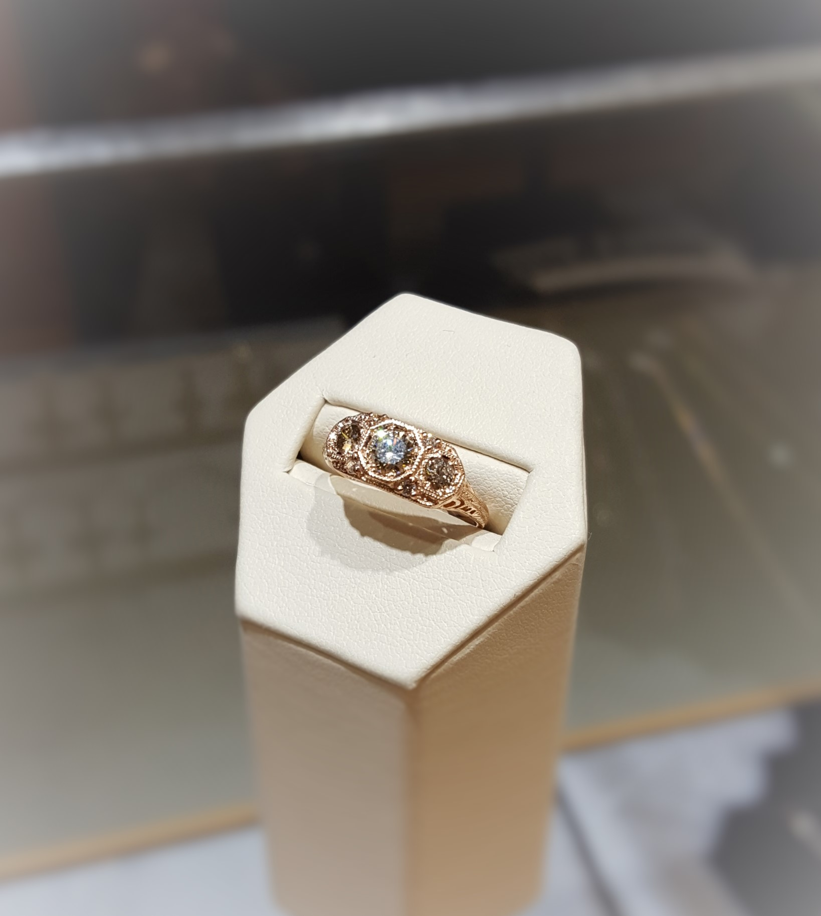 .67ctw Diamond Antique-Style