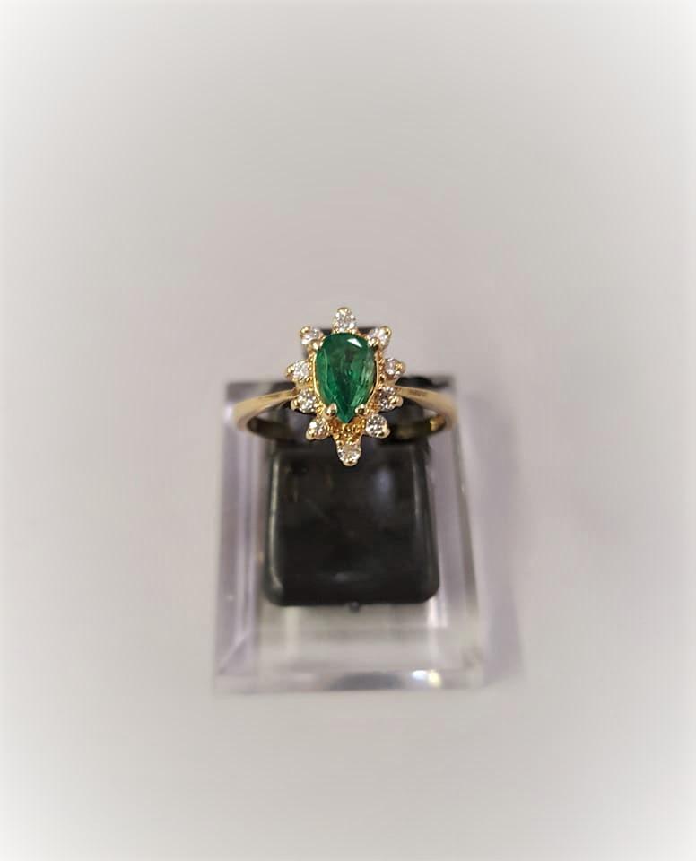 Vintage .40ct Emerald