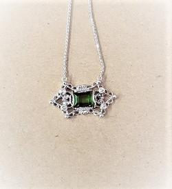 1.85ct Touramline Diamond
