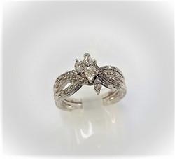 1ctw Marquise Diamond Set