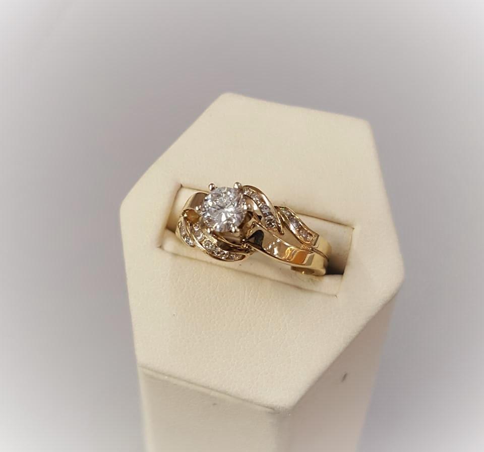 1ctw Diamond Wedding Set