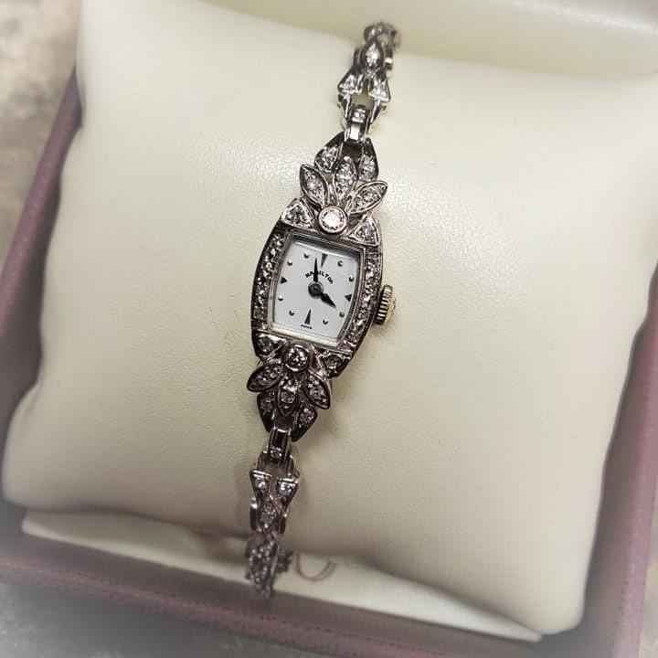 1ctw Hamilton Diamond Watch