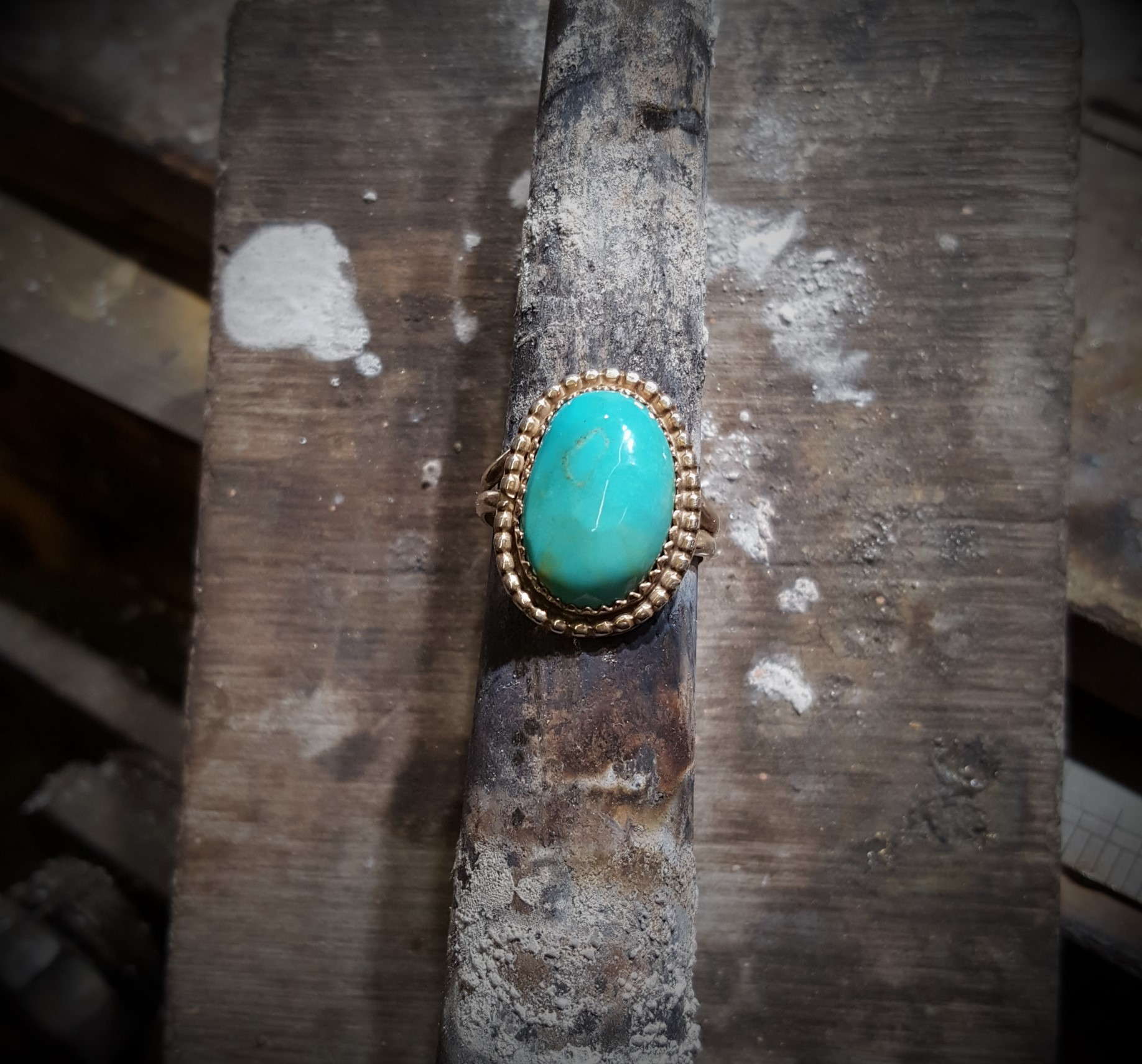 Victor Quintanilla Turquoise Ring