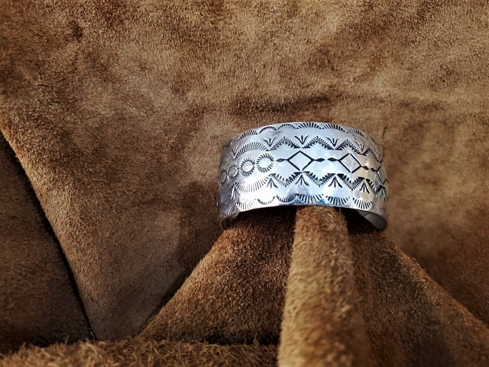 Navajo Nataanii Cuff Bracelet