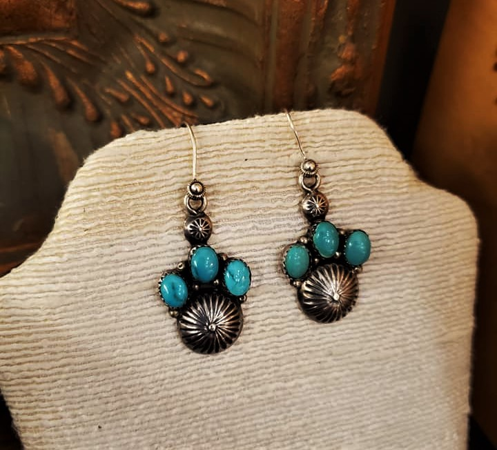Oscar Alexius Navajo Earrings