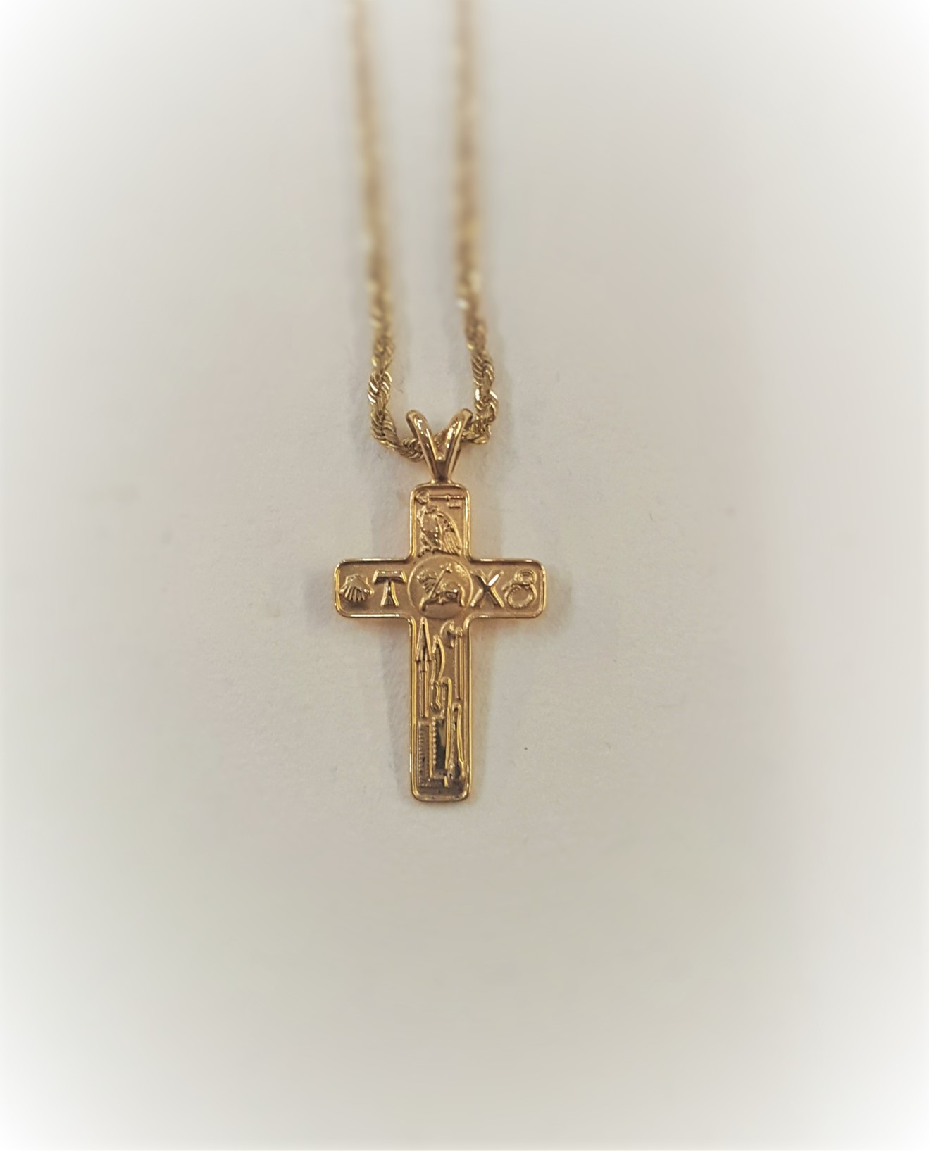 Cross with Religious Symbols