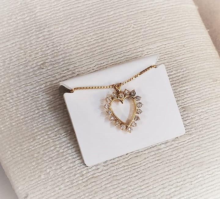 1ctw Diamond Heart Pendant