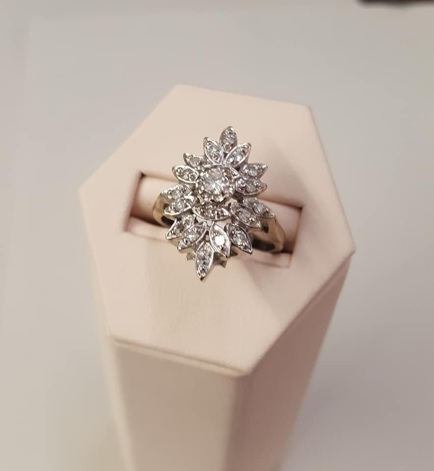 .40ctw Diamond Antique Ring